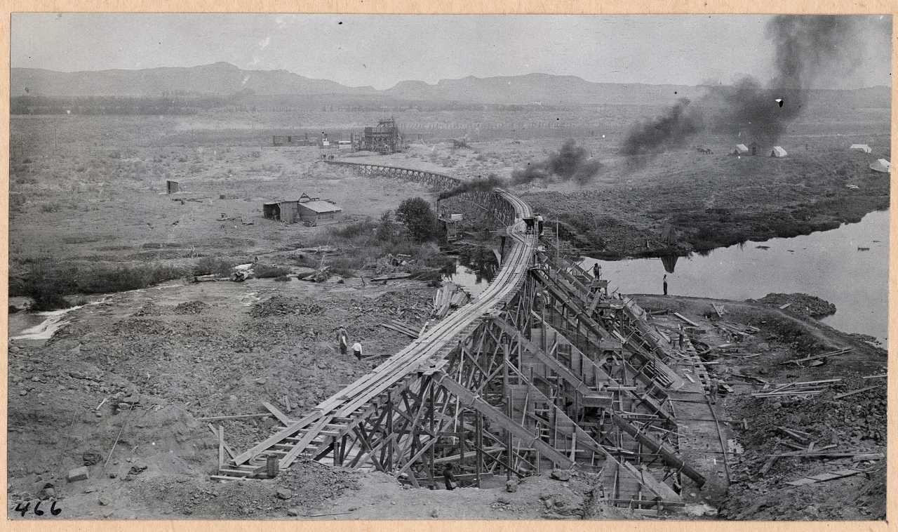 466-General view of construction. 1914.