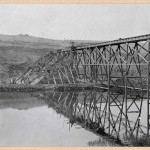 469-View of dam construction. 1914.