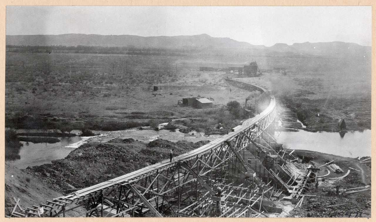 471-General view of dam. 1914.