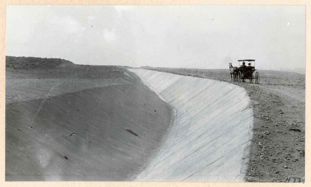 473-Canal construction. 1914.